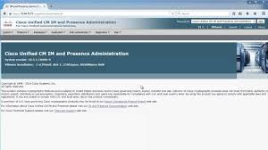 Cicd 1 0 Cisco Unified Communications Manager Im And Presence