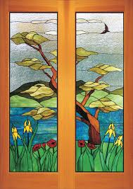 british columbia stained glass doors sidelights and transoms