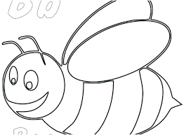 Honey Bee Coloring Pages For Kids Realistic To Print Mebelmag