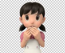 Try on blonde hair color shades, red hair color, or even vibrant hair color with our new 3d technology! Shizuka Minamoto Nobita Nobi Suneo Honekawa Doraemon Hidetoshi Dekisugi Png Clipart Animation Black Hair Brown Hair