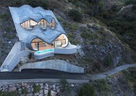 house plans built into side hill