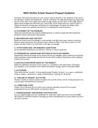 18 Printable Research Proposal Template Apa Forms Fillable Samples