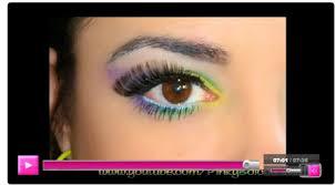 tutorial mardi gras mambo gde makeup tutorial by theresa b