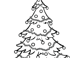 Free Printable Christmas Tree Coloring Sheets Tree Coloring Pages