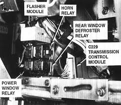 power windows it an ac relay or resistor problem and where are they graphic