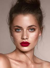 red lips to keep you warm through winter