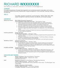 Health And Safety Officer Resume Sample Resumes Misc Livecareer