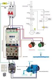 single phase motor contactor wiring diagram elec eng world w t schneider single phase contactor wiring diagram at Contactor Wiring Diagram Single Phase