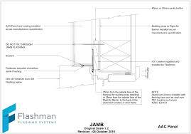 aac panel jamb