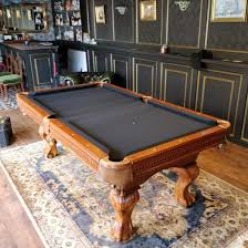 snooker table dismantle and transport