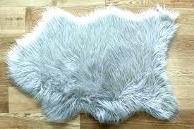 faux rugs fur rug sheepskin silver straight white carpet area ikea trending ro faux sheepskin area rug