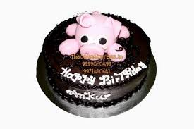 Pig Birthday Cake Online Cake Delivery Noida Ping Theme Cakes In