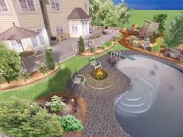 free backyard design software. Fine Design Backyard Design Software Google Sketchup Free Landscape  Xlandscaping Pictures Intended E