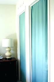curtain for closet door ideas manificent design cover