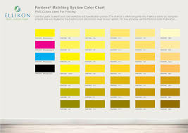 Pantone Matching System Color Chart Templates At