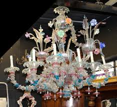 venetian murano chandelier c 1870