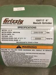 Grizzly T24463 6 Bench Grinder With Work Light Ideas About Grizzly G9717 6 Bench Grinder Appu