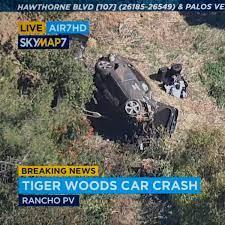 Tiger Woods: Horror-Unfall! OP nach schlimmen Verletzungen - Unfallursache  wird ermittelt