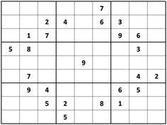 Printable Hard Sudoku Sheets | Samurai Sudoku: a difficult free ...