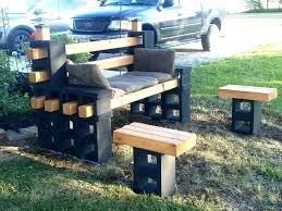 cinderblock furniture. Contemporary Furniture Cinder Block Furniture Backyard Cement Blocks  In Practical  Throughout Cinderblock E
