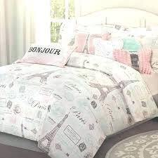 paris duvet covers quilt set best twin bed comforter sets ideas on girls bedding themed doona