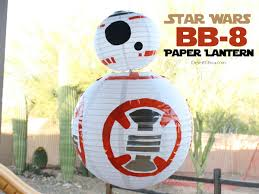 Diy Paper Lanterns Star Wars Bb 8 Paper Lantern Desert Chica