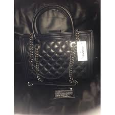 $6100 Chanel 13B Classic Flap Quilted Le Boy Large Black Calfskin ... & lightbox Adamdwight.com
