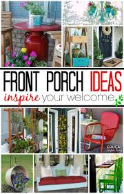 Easy Patio Decorating Front Porch Ideas Inspire Your Welcome This Spring Spring