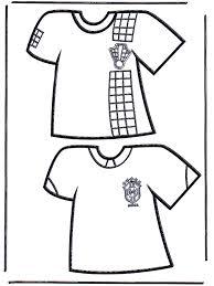 Voetbal T Shirts 1 Voetbal Kleurplaten