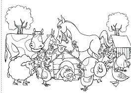 farm coloring pages free printable coloring pictures farm animals printable coloring farm animal coloring pages sheets