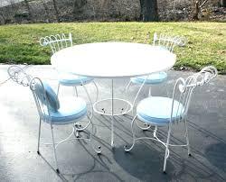 wrought iron wicker outdoor furniture white. White Wrought Iron Garden Furniture Patio Wicker Outdoor W