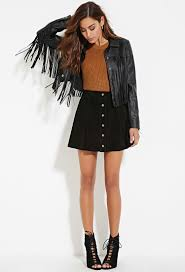 gallery women s fringed leather jackets