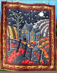 1428 best Quilting images on Pinterest | Projects, Fall and Fall ... & Halloween Quilt - Pictures of Theme and Pictorial Quilts Adamdwight.com