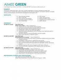 Aircraft Mechanic Resume Army Markone Co For Photo Examples