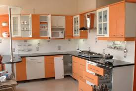 Small Picture Large Kitchen with Orange Display Windows Design by Interior
