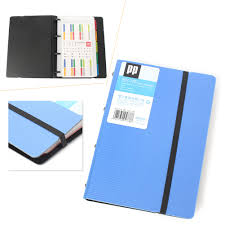 Business Card Holder Book Name Card Organizer Loose Leaf Pages Easy