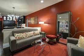 Burnt Orange And Brown Living Room Property Best Decorating