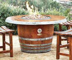 barrel tables for the patio best wine projects images on barrels diy table side diy wine barrel table