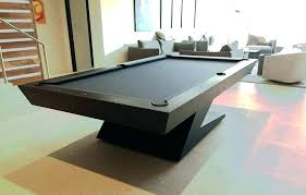 g 4 glass top pool table stained lights custom modern ultra tables architectural