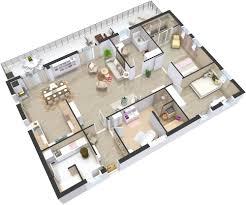 Home Plans 3D  RoomSketcherHome Planes