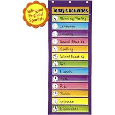 Pacon Dry Erase Activity Pocket Chart