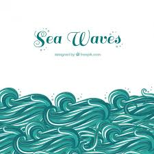 Sea Waves Vector Free Download