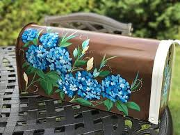 painted mailbox designs. Custom Painted Mailboxes, Unique Mailbox, Mailbox Art, Hand Artistic, Personalized Creative Art For Your Home Designs L