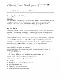 Entry Level Realte Agent Resume Sample Cv First Time Assistant