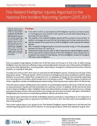 Statistical Reports On The U S Fire Problem