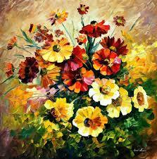 breathtaking flower paintings by leonid afremov amo images amo images