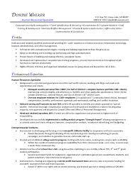 hr specialist resume - Training Specialist Resume