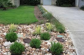 Front Yard Landscaping Ideas Using Rocks Willing Landscape Front Lawn  Landscaping Ideas Using River Rocks