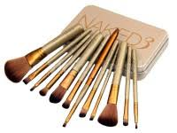12 pieces urban decay 3 power brush set