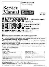 pioneer a 305r sm service manual schematics eeprom pioneer keh 2100 keh21232400 pioneer
